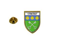 Pins Pin Badge Pin's Souvenir Ville Drapeau Pays Blason Etretat - Non Classificati