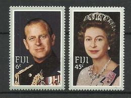 Fiji 1982 Queen's Visit  Y.T. 469/470 ** - Fiji (1970-...)