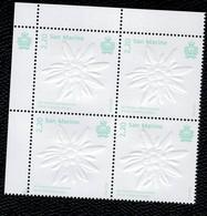 San Marino 2020 50° Anniversario Del Premio Internazionale D'Arte Filatelica Asiago 1v In Quartina Complete Set ** MNH - Unused Stamps