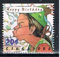 SINGAPORE JL047 - 1993 20x Greetings Used - Singapore (1959-...)