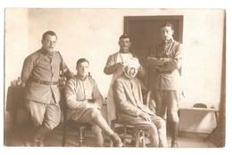 CPP 279 - CARTE PHOTO - MILITARIA - Infirmerie Du 243e Régiment D'Artillerie De Campagne De Caen En 1920 à Dotzheim - Guerra 1914-18