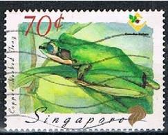 SINGAPORE JL048 - 1999 70x Fauna Used - Singapore (1959-...)