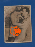 OLD ANCIANNE PHOTO NUDE MEN &  GIRL SEX  NUDE SEXY EROTIC  YOUNG   9 CM X 11 CM - Unclassified