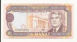 Turkmenistan 10 Manat UNC - Turkmenistan