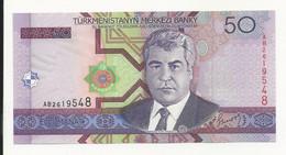 Turkmenistan 50 Manat UNC - Turkmenistan