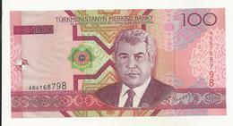 Turkmenistan 100 Manat UNC - Turkmenistan