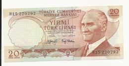 Turkey 20 Lira UNC - Türkei