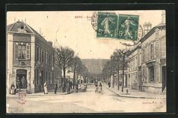 CPA Sens, Rue Et Bureau D'Octroi - Sens