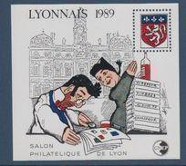 CNEP-1989-N°10** LYONNAIS.Salon Philathélique De LYON - CNEP