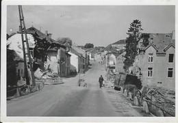 Neufchâteau Photo 1940 Prise Par Soldat Allemand.Rte Vers Arlon. Destructions. - Non Classés