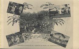X123045 FERNANDO POO GUINEA ESPAÑOLA COSTA Y RODRIGUEZ CURANDO A UN INDIGENA, CATEQUIZANDO, TOROS DE MOKA LENA COCINA - Equatorial Guinea