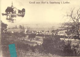Kui- 57 Moselle Repro Cpm  SARREBOURG & HOFF  Gruss - Sarrebourg