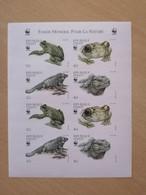 080 WWF Frog Lezard UNCUT - Haïti