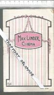 Po // Vintage // OLD  Cinéma Program // Superbe Programme Cinéma Du 1 Au 7 Septembre 1922  Charlot Soldat @@ MAX LINDER - Programmi