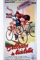 Mini Locandina Film - Bellezze In Bicicletta - Cm 15 X 10 Circa - Manifesti & Poster
