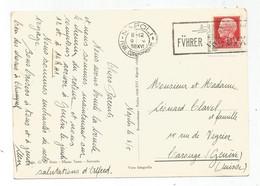 ITALIA 75C SEUL CARTOLINA MECANIQUE NAPOLI FUHRER DVX 1938 TO SUISSE - Storia Postale