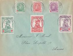 Belgium - Red Cross, Year 1914 - Usados
