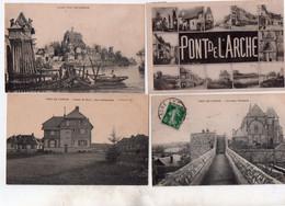 Pont De L'arche 1 Lot De 7 Cartes 10euros - Pont-de-l'Arche