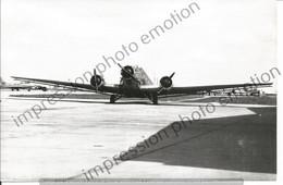 PHOTO AVION JUNKER JU 52        12X18CM - Aviación
