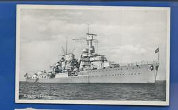 Bâteau De Guerre Allemand     KREUZER  LEIPZIG    écrite En 1942 - 1939-45