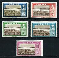 Ubangui (Francés) Nº Tasa-12/... Cat.13,50€ - Unused Stamps