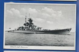 Bâteau De Guerre Allemand    SCHLACHTSCHIFF   GNEISENAU    écrite En 1940 - 1939-45