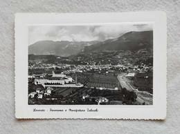 Cartolina Illustrata Rovereto - Panorama E Manifattura Tabacchi, Viaggiata Per Forlì 1952 - Otras Ciudades