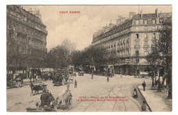75 PARIS - 10ème, TOUT PARIS Place De La République Et Boulevard Saint-Martin - Arrondissement: 10