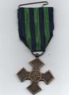 Médaille Militaire   1916 _1918  Ruban Vert Et Bleu - Ohne Zuordnung