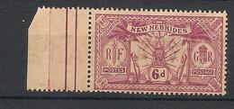 Nouvelles Hébrides - 1911 - N°Yv. 54 - 6p Lilas-brun - Neuf Luxe ** / MNH / Postfrisch - Ungebraucht