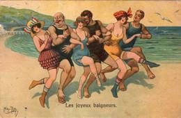 Illustrateur : Arthur, Thiele. Les Joyeux Baigneurs - Thiele, Arthur
