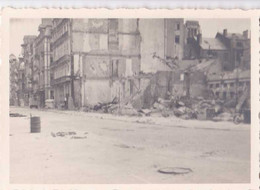 Photo Format 10-7 Cm Faite Le 24 Juin 1945 - Côté Gauche Du Kursaal D'Ostende - Photo Originale - Plaatsen