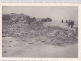 Photo Format 10-7 Cm Faite Le 24 Juin 1945 - Restes Du Kursaal D'Ostende - Photo Originale - A - Plaatsen