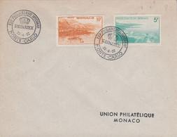 MONACO EXPO PHILA REINATEX 1952 - Postmarks