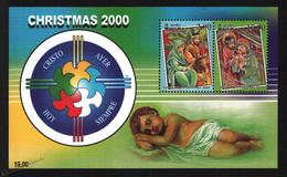 Sri Lanka 2000 Yvert BF 76, Christmas. Nativity Scenes. Baby Jesus - Miniature Sheet - MNH - Sri Lanka (Ceylon) (1948-...)