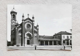 Cartolina Illustrata Orbassano - Chiesa Parrocchiale E Municipio, Non Viaggiata - Andere Steden