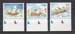 TIMBRES MONACO EUROPA  N° 1825 AU 1827 BDF  **   PM - Unused Stamps