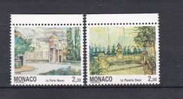 TIMBRES MONACO SERIE COURANTE N° 1832 AU 1833 BDF  **   PM - Unused Stamps