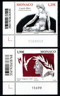 MONACO 2015 : SERIE N° 2973 ET 2974 - NEUFS ** En Coin De Feuille - - Ungebraucht