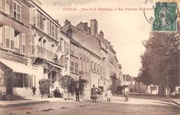 A-20-6777 : STENAY. PLACE DE LA REPUBLIQUE ET RUE FRANCOISE MAURETOUR - Stenay