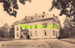 CPA MUNSTERBILSEN LE CHATEAU BILZEN LIMBOURG - Bilzen