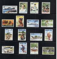 (stamp 11-11-2020) Selection Of Nauru Stamps (16 Mint Stamps) Up To $ 2.00 - Nauru