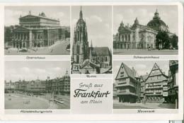 Gruss Aus Frankfurt A. Main 1951 - Gelaufen. (Schöning & Co.) - Frankfurt A. Main