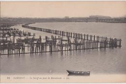 Bv - Cpa LORIENT -Le Scorff Au Pont De Kérentrech - Lorient