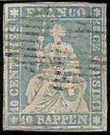 94992b - SWITZERLAND - STAMP - Zumstein # 23 Ca - Very Fine  USED - Gebraucht