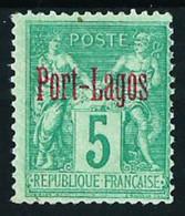 Puerto Lagos (Francés) Nº 1 Nuevo(*) Cat.35€ - Unused Stamps