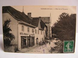 CPA 74 HAUTE SAVOIE VEYRIER DU LAC HOTEL DE LA TOURNETTE ANIMEE  943 - Veyrier