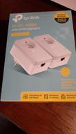 Kit De 2 CPL AV 600 Mbps Avec Prise Intégrée - Kit Di Connessione A  Internet