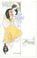 A.K. MACDONALD - Femme Art Nouveau - Soring  (4848 ASO) - Andere Zeichner