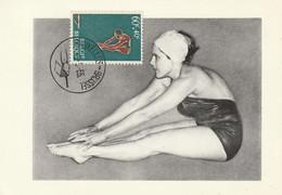 Carte Maximum -   Natation - 1961-1970